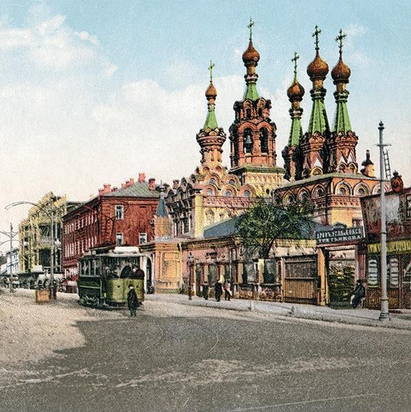 Цветные фотографии дореволюционной екатеринодара