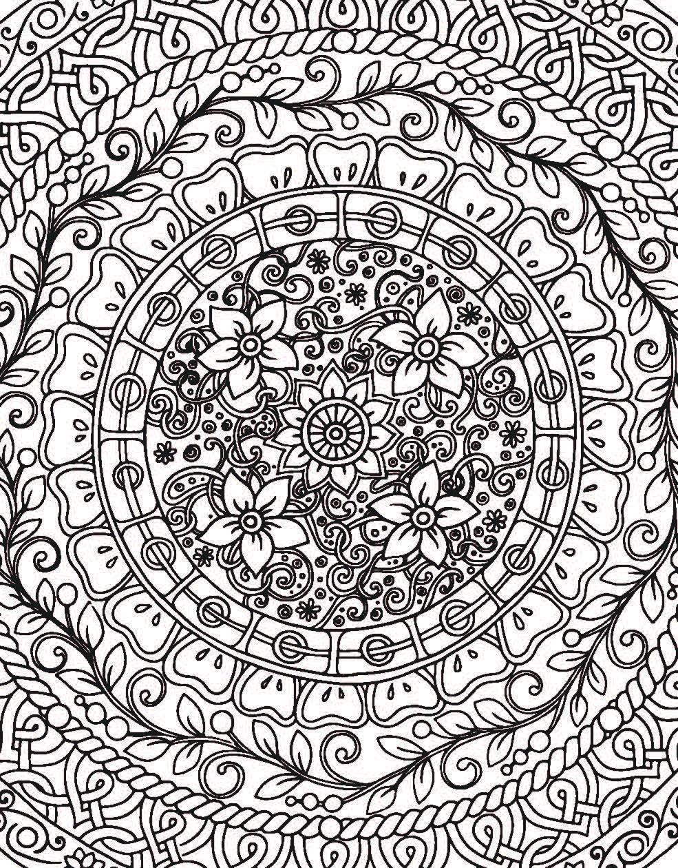 Рисунки с узором внутри