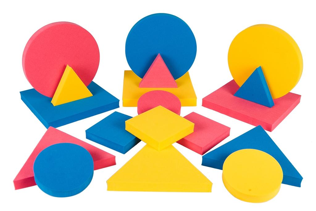 данный картинка геометрических фигур разного размера без проблем