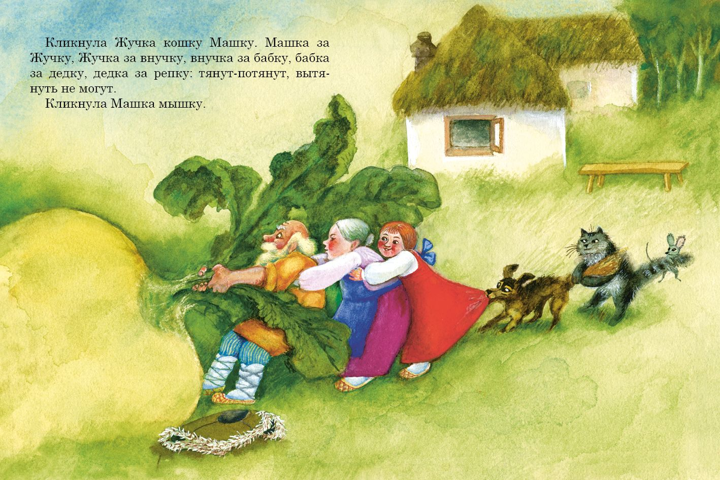 Смешная сказка с картинками для детей, наступающий старый