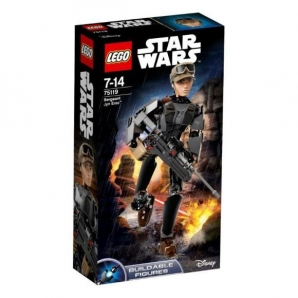 обложка LEGO CONSTRACTION STAR WARS СЕРЖАНТ ДЖИН ЭРСО™ в кор.6шт от интернет-магазина Книгамир